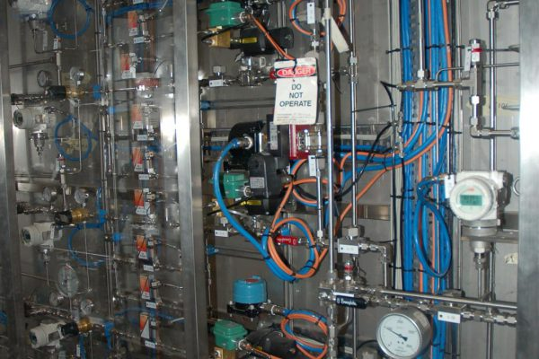 Instrumentation for clean coal gas project