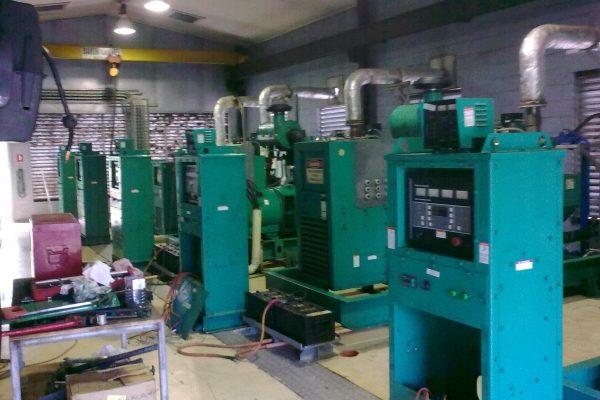 Part of the generator installation