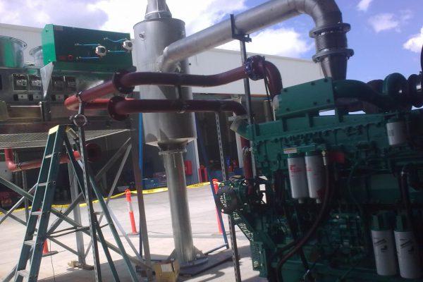 Test install in Brisbane before Tonga