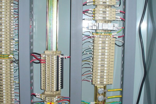 Inside Water Pump Control Panel