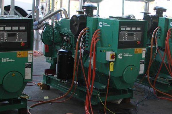 Generator Installation at Badarra Island