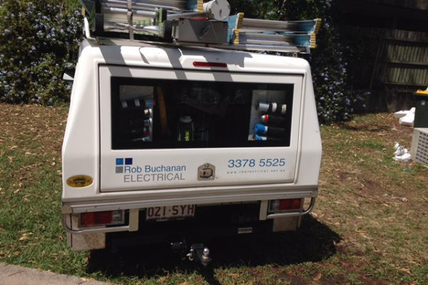 One of Our Electrican Vans